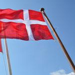 Træflagstang udført i svensk grantræ.